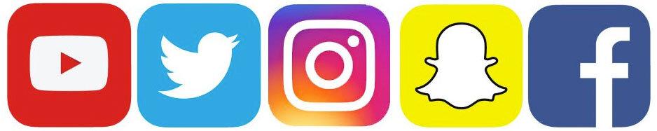 Web Kinetics - Social Media Optimisation Company  Social Media Icons